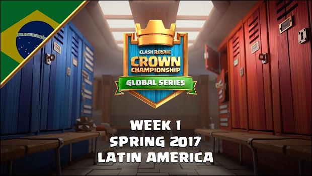 Torneio mundial de Clash Royale AOVIVO (1°semana) - 1