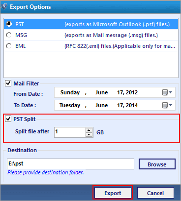 Repair PST File By Using Outlook Recovery Software