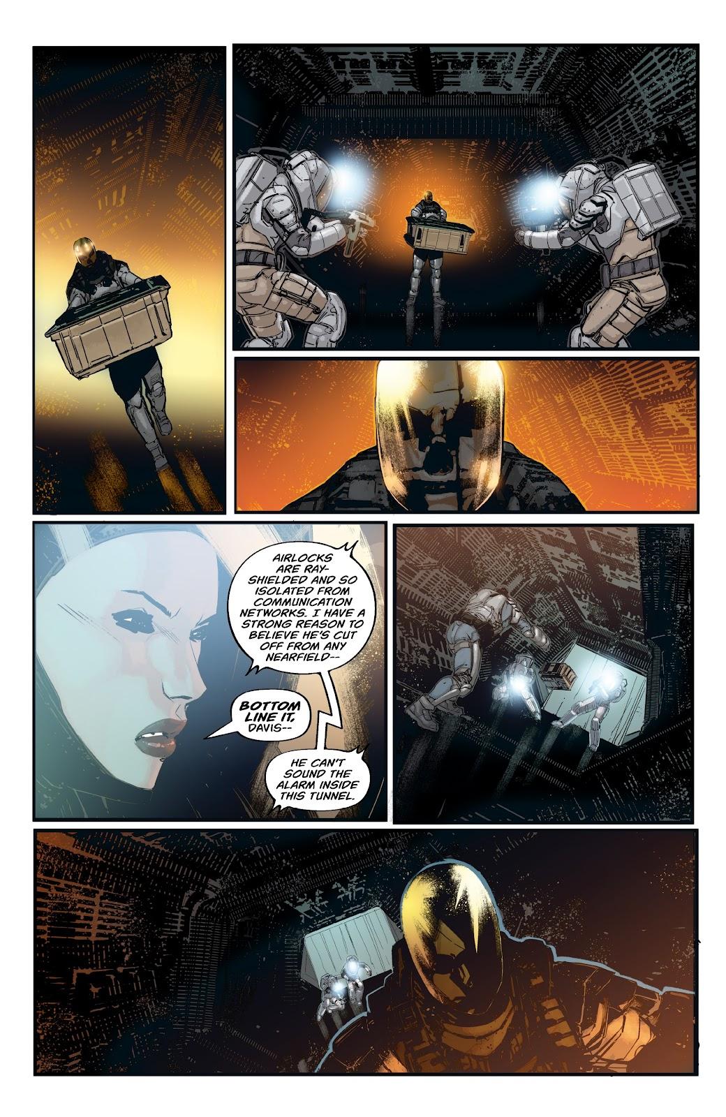 Read online Aliens: Resistance comic -  Issue #2 - 10