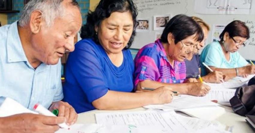 MINEDU: Especialistas analizarán avances de la educación básica alternativa el lunes 14 de setiembre