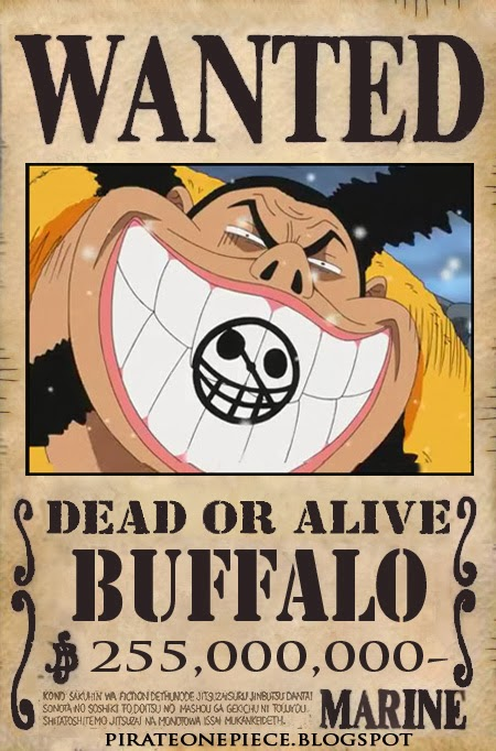 http://pirateonepiece.blogspot.com/2013/10/wanted-buffalo.html