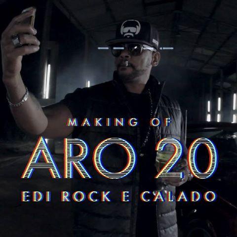 """Confira o Making of do clipe """"Aro 20"""" do Edi Rock em parceria com Calado"""