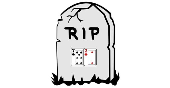 poker card dead
