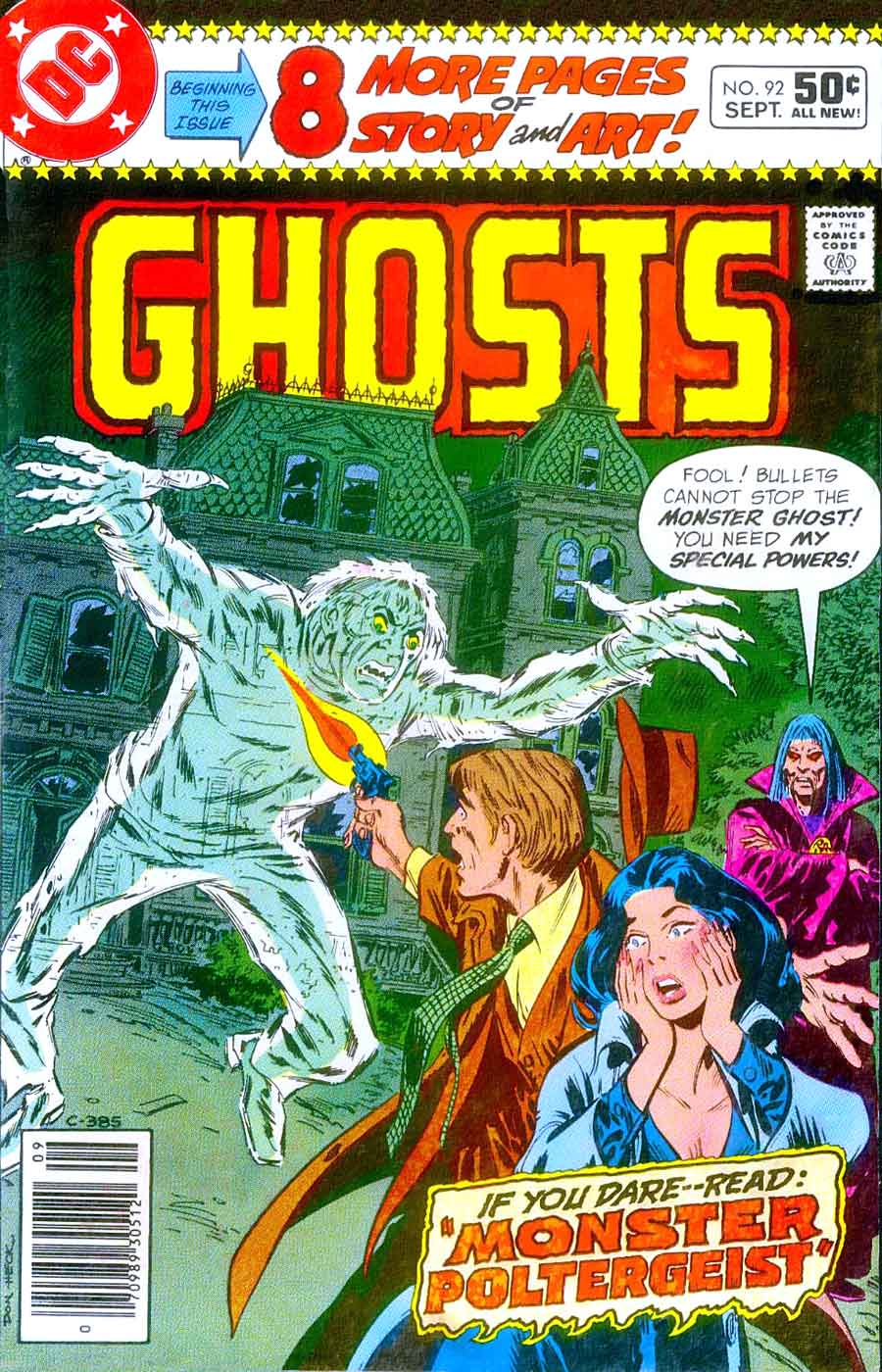 Ghosts #92 - Don Newton art - Pencil Ink