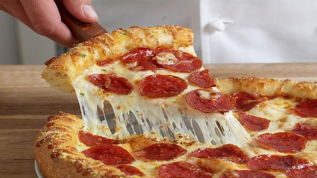 Pizza Burger (Imagem: Reprodução/I Pinimg)