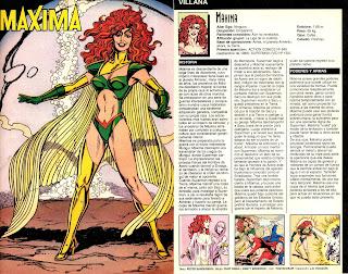 Maxima (ficha dc comics)