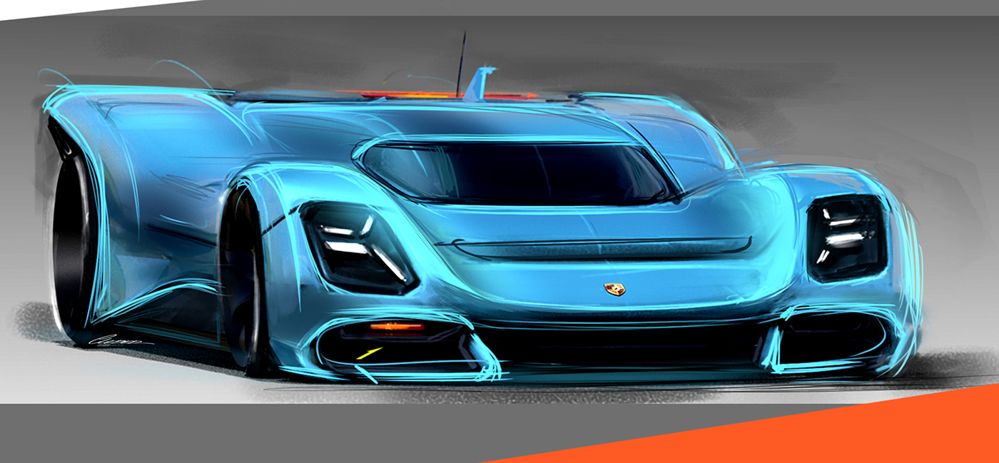 The World Needs A Homage To The Porsche 917 Carscoops
