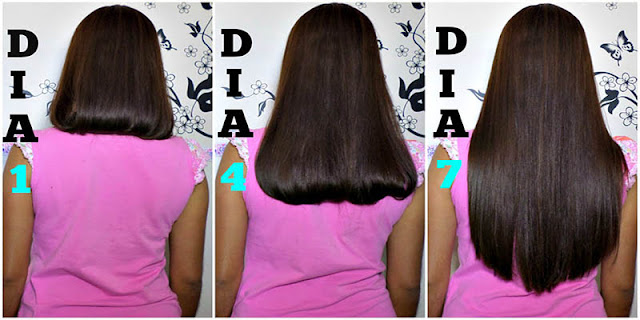 Cómo hacer que su pelo largo en 1 semana / 7 días ...! Si, funciona