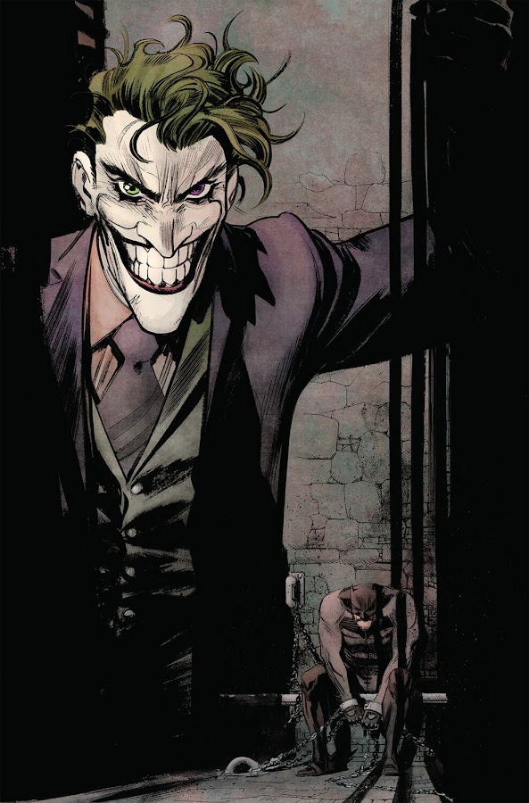 batman vs joker white knight dc comics