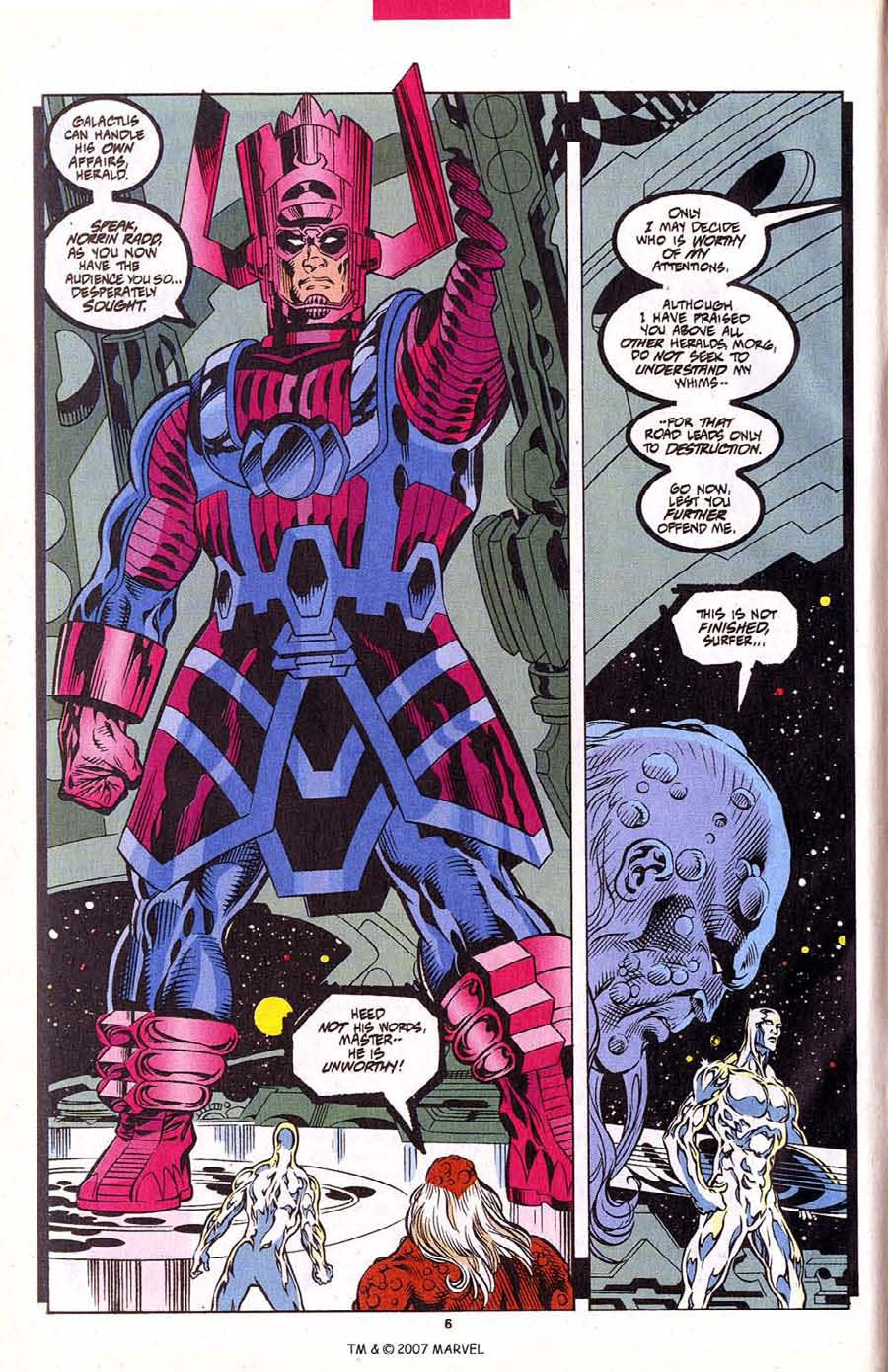 Read online Silver Surfer (1987) comic -  Issue #102 - 8