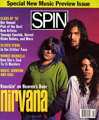 """ItsNotYouItsMe """"Back To The Future"""" Edition Pays Homage To Spin's Very First Nirvana Cover Shoot! Now Up for Auction..."""