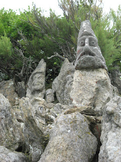 Sculptures l'Abbé Fouré. Скульптуры аббата Фуре.