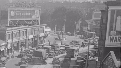 Washington Street (Route 9) looking east, 1930s