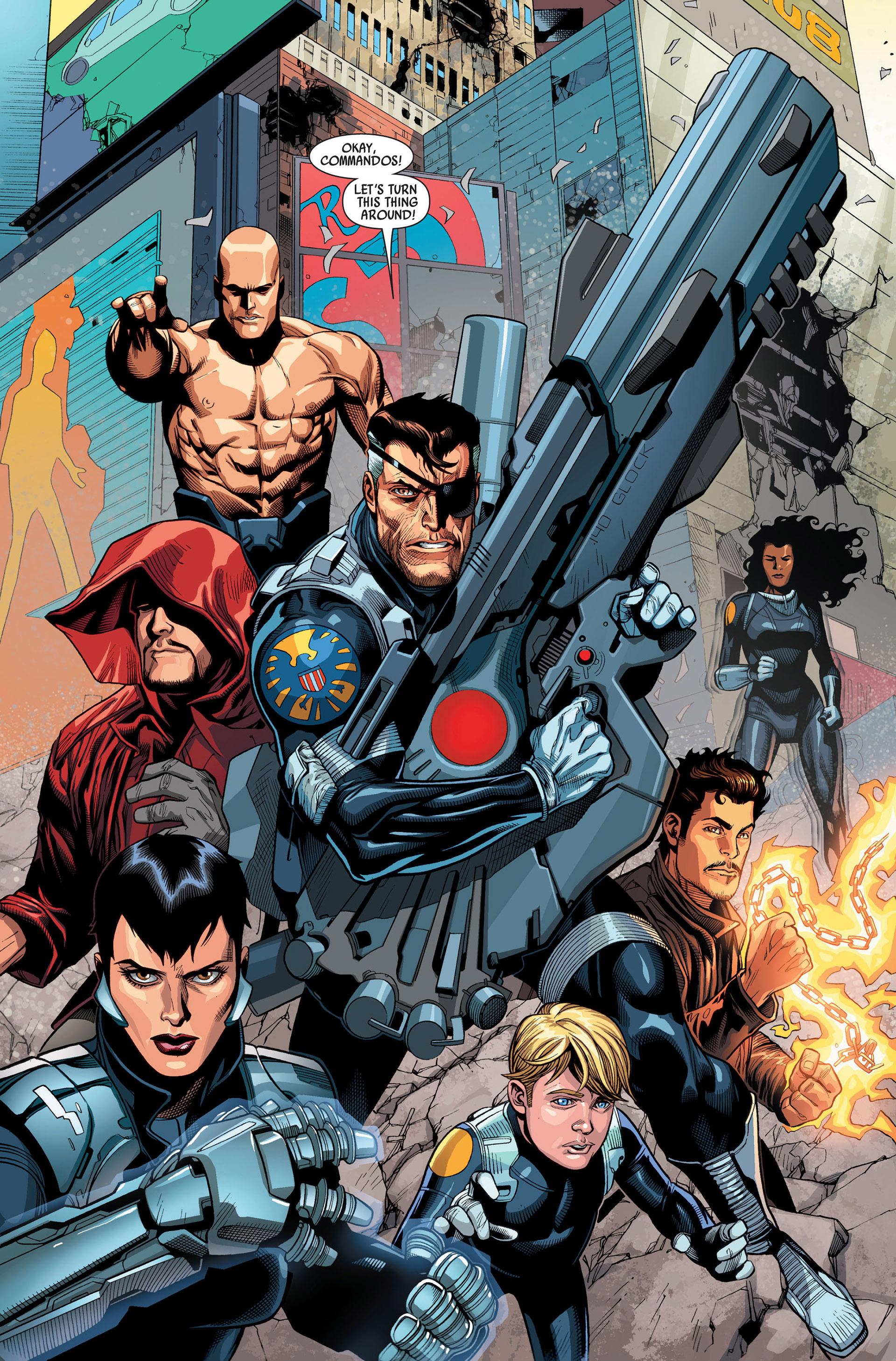 Read online Secret Invasion comic -  Issue #3 - 20