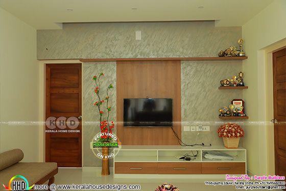 TV room interior, Pala, Kerala
