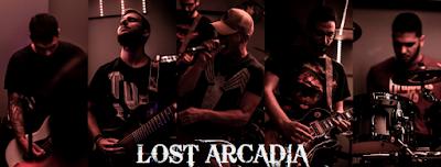 Lost Arcadia band photo