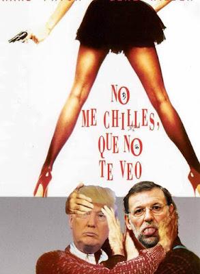 Memes conversación Trump y Rajoy