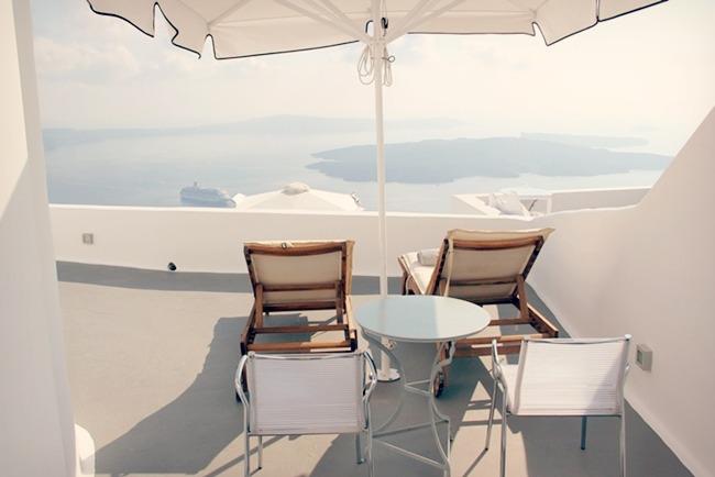 SLH hotels in Santorini