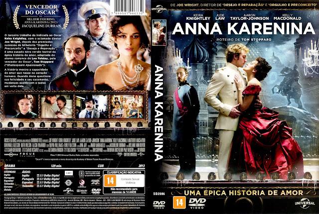 Capa DVD Anna Karenina