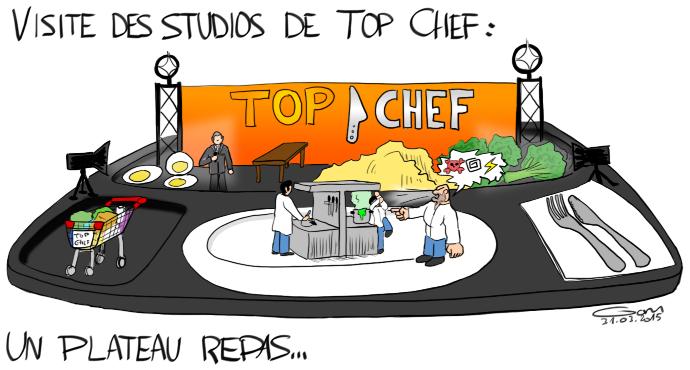 Top Chef : un plateau repas