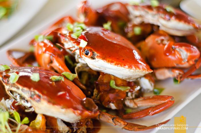 Bluewater Maribago Beach Resort Cebu Crabs