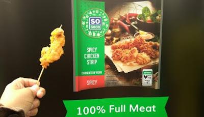 Rasa pedasnya menggoda dan terbuat dari 100 % daging ayam pilihan(dok.windhu)