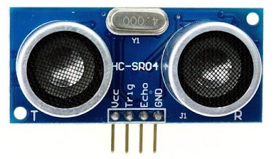 HC-SR04 Ultrasonic sensor pin outs