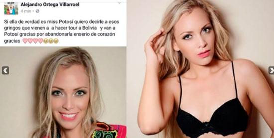 Miss Villazón se vuelve viral por su belleza
