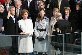 oath of office George W. Bush