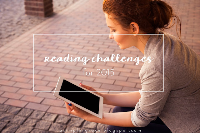 reading challenges, 2015, #asimplergrace