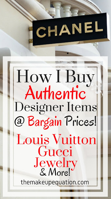 How to Buy Authentic Designer Items At Bargain Prices