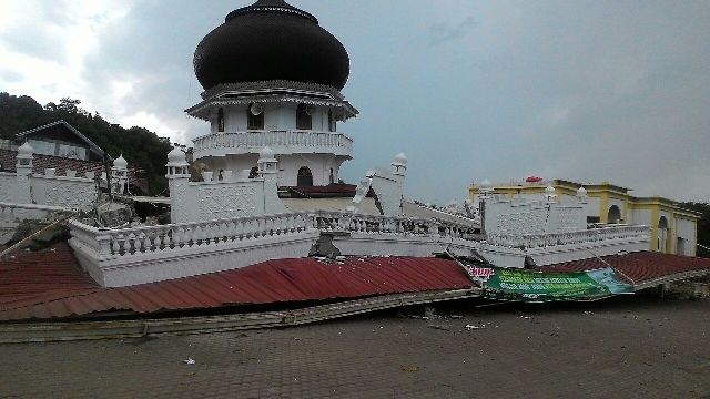 Gempa 5 SR Kembali Guncang Pidie Jaya Aceh