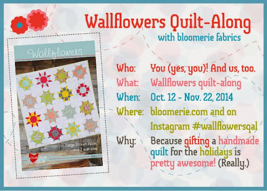 Bloomerie Quilt along-slowly