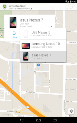 Remove devices from android device manager