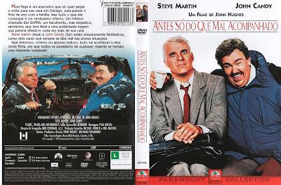 Filme Antes Só do Que Mal Acompanhado (Planes, Trains and Automobiles) DVD Capa