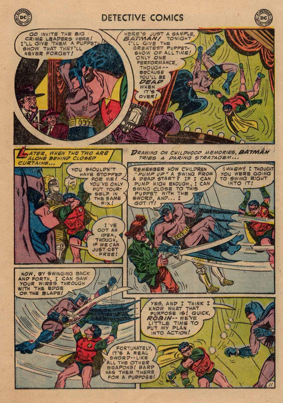 Read online Detective Comics (1937) comic -  Issue #212 - 12