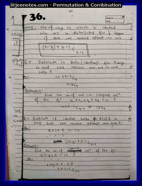 permutation and combination notes7