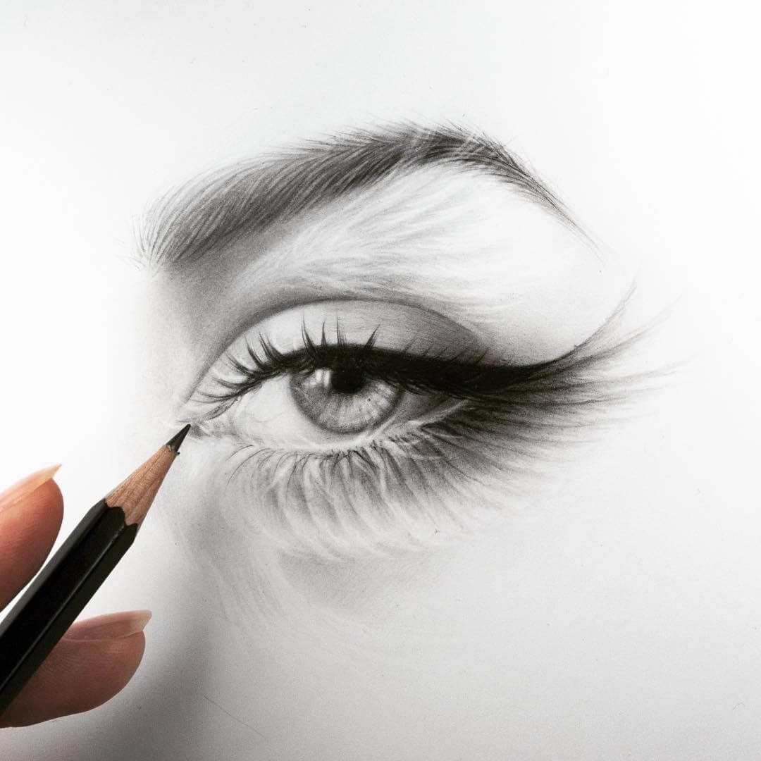 04-Eye-and-Lashes-Silvie-Mahdal-Realistic-Anatomical-Detailed-Portraits-www-designstack-co