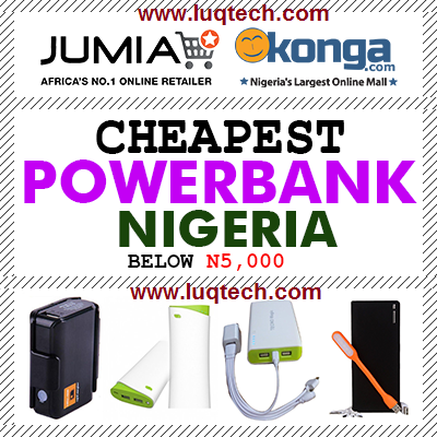 cheap power banks online in nigeria below N5,000