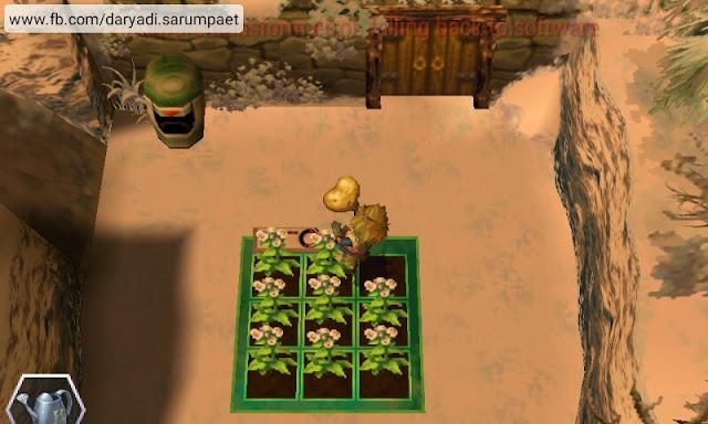 harvest moon innocent life psp game harvesting virtual field