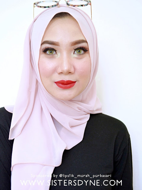 Wardah Exclusive Matte Lip Cream Hello Rubby