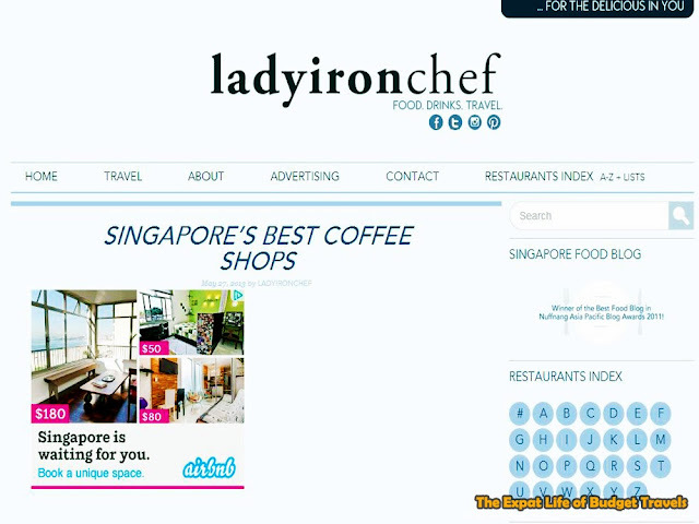 bowdywanders.com Singapore Travel Blog Philippines Photo :: Singapore :: 5 Best Online Singapore Food Guides