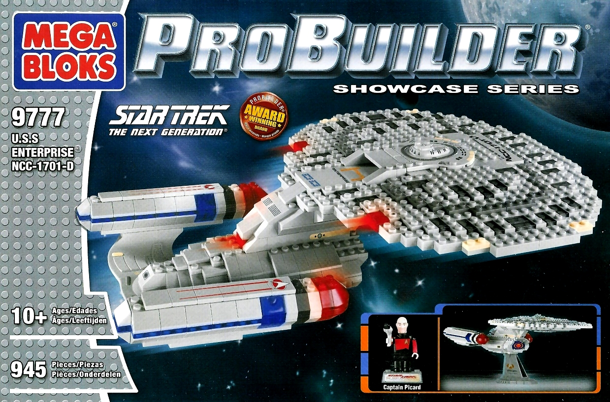 Mega Bloks Star Trek U.S.S Enterprise NCC-1701 Collector Construction Set New