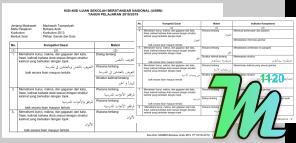 Kisi Kisi USBN Bahasa Arab MTs Tahun Pelajaran 2018/2019