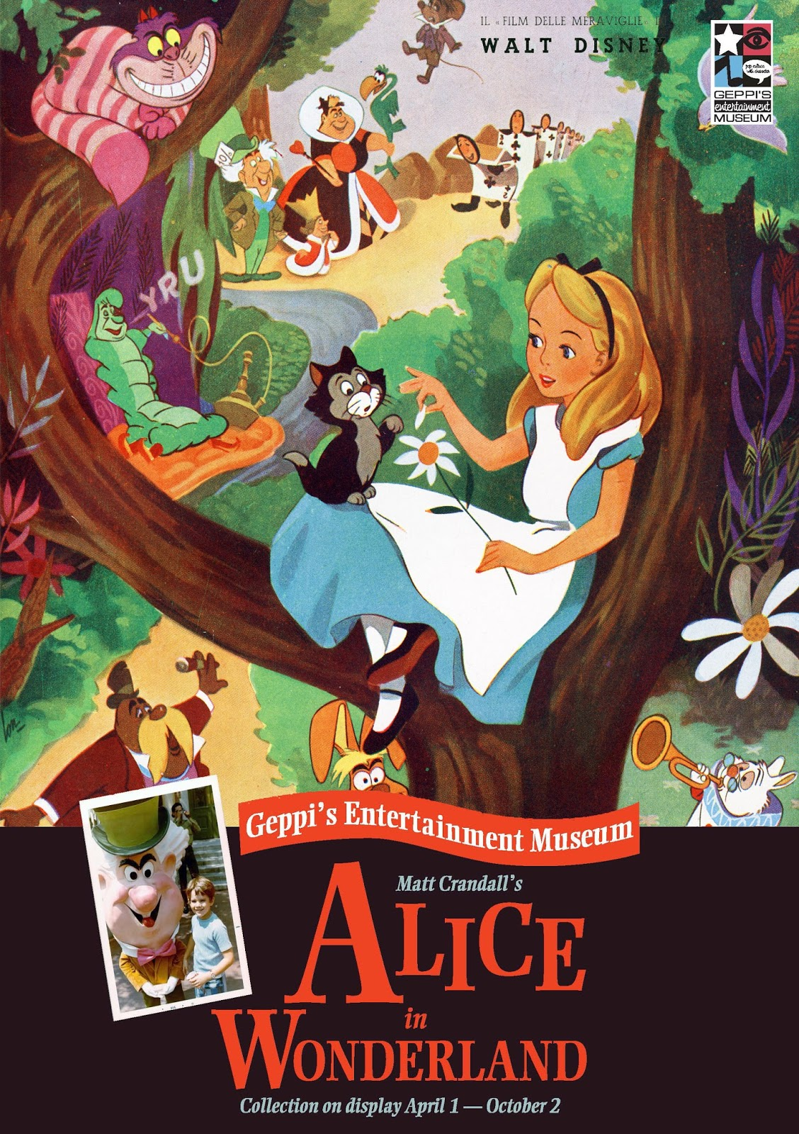 alice in wonderland by walt disney Alice in wonderland is a 1951 american animated musical fantasy-adventure film produced by walt disney productions and based on the alice books by lewis carrollthe 13th of disney's animated.