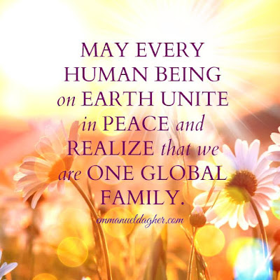 quote about uniting, unite as one, global family,love wins