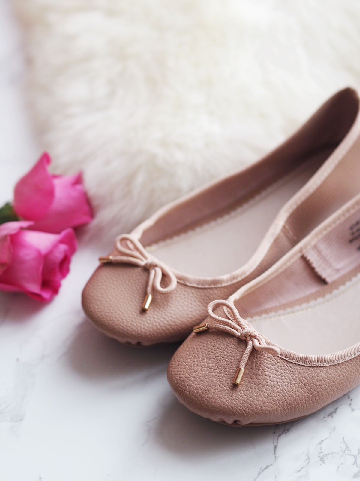 Summer Shoe Staples Topshop Nude Pink Ballet Slipper Shoes