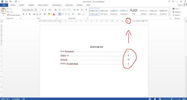 namun masih banyak sekali yang belum mengetahui cara membuatnya dengan cepat dan mudah Geveducation:  Contoh Cara Mudah dan Cepat Membuat Daftar Isi Makalah Proposal dan Skripsi