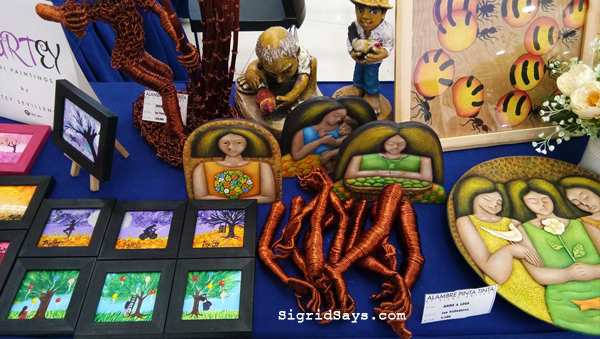 Bacolod artists - Art Sale - SM City Bacolod