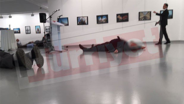 Embaixador da Russia morto a tiro na Turquia